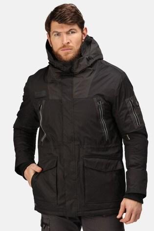 Regatta Black Martial Insulated Waterproof Jacket