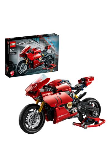 LEGO 42107 Technic Ducati Panigale V4 R Motorbike Model Set