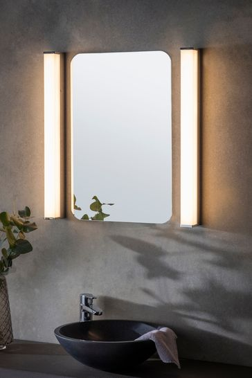 Gallery Direct Silver Edd LED Wall Light