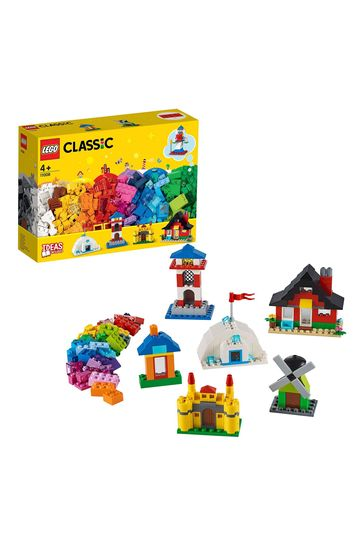 LEGO 11008 Classic 4+ Bricks and Houses Building Set