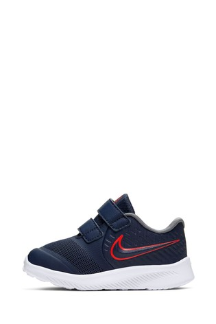 Buy Nike Run Navy/Pink Star Runner