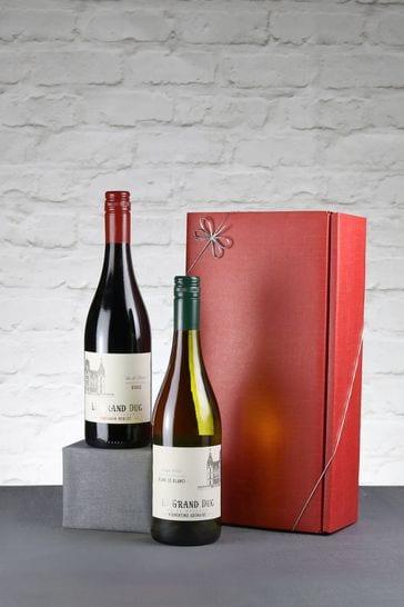 Set of 2 Fabulously French Wine Gift Set by Le Bon Vin