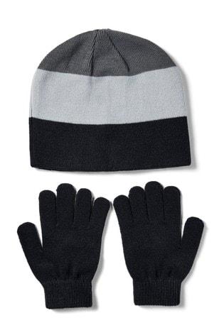 Under Armour Boys Beanie & Gloves Combo