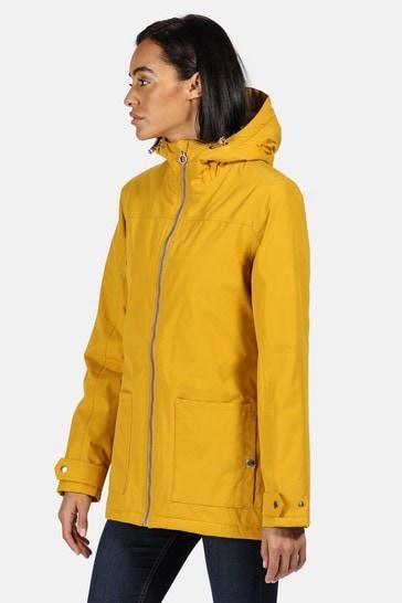 Regatta Yellow Bergonia II Waterproof Jacket