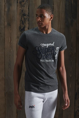 Superdry Limited Edition Embroidery T-Shirt