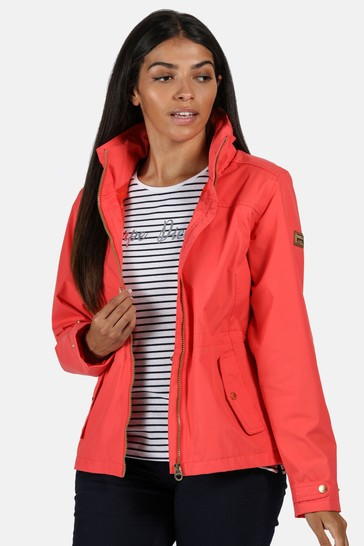 Regatta Red Laurenza Waterproof Jacket