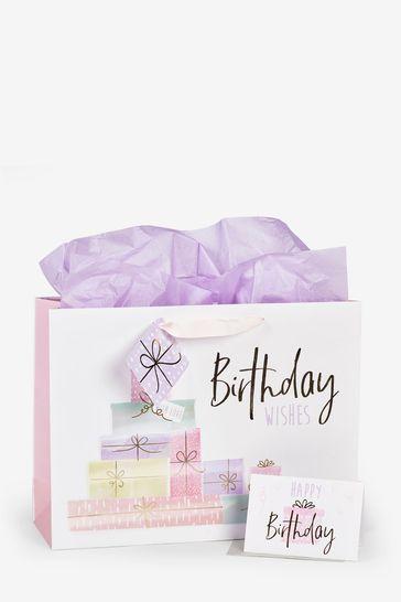 Present Gift Bag Set