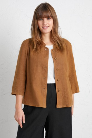 Seasalt Petite Brown Casting Call Jacket