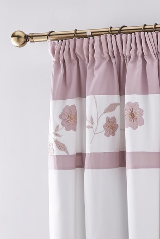 Grace Eyelet Curtains by Catherine Lansfield