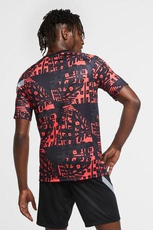 Nike Black/Grey Liverpool Pre Match T-Shirt