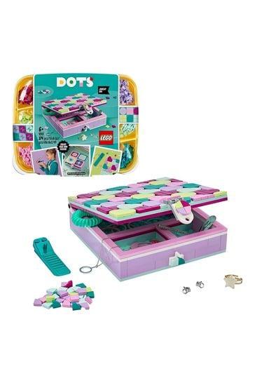 LEGO 41915DOTS Jewellery Box Arts & Crafts for Kids Set