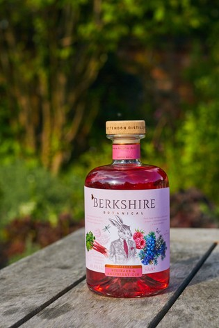 50cl Rhubarb And Raspberry Gin by Berkshire Botanical