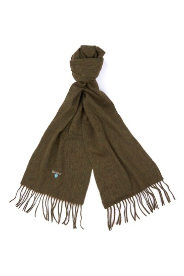 Barbour® Plain Lambswool Scarf