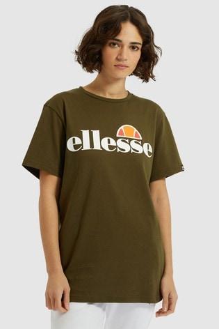Ellesse Khaki Albany T-Shirt
