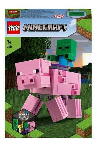 LEGO® Minecraft BigFig Pig with Baby Zombie 21157