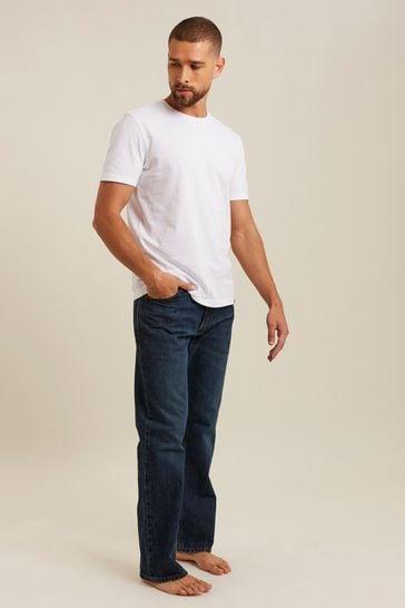FatFace Denim Boot Cut Mid Wash Jeans