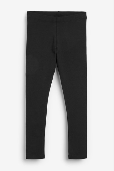 Black Longer Length 1 Pack Leggings (3-16yrs)