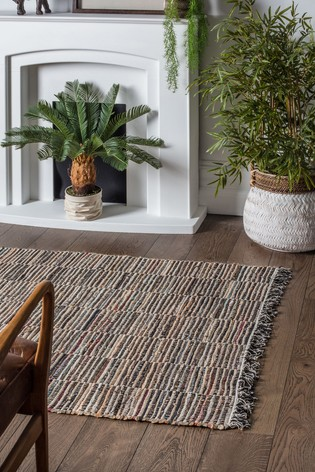 Alonzo Multi Fringed Rug by Gallery Direct