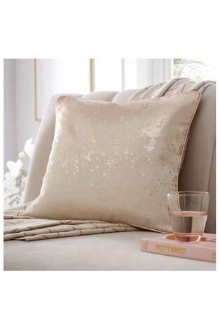 Tess Daly Splatter Foil Print Cushion