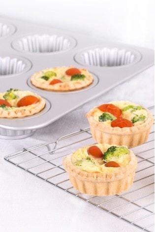 Aluminium 12 Cup Muffin Baking Tins by Wham