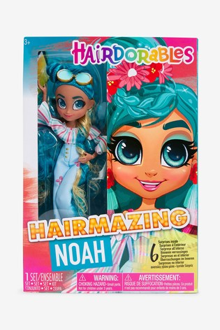 Hairdorables Hairmazing Fashion Doll Noah