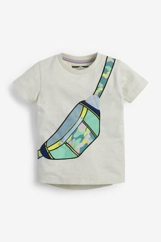 Ecru Bag Appliqué T-Shirt (3mths-7yrs)