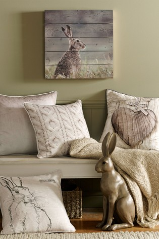 Hare Wood Wall Art by Art For The Home