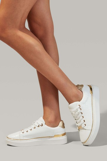 Miss KG White Kiral Trainers