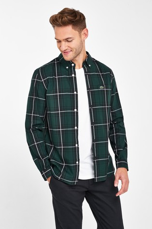 Lacoste® Madras Check Shirt