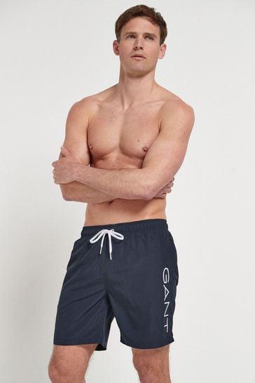 GANT Lightweight Logo Swim Shorts