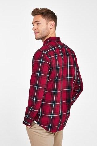 Lacoste® Madras Check Shirt