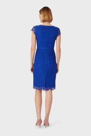 Hobbs Blue Elora Dress