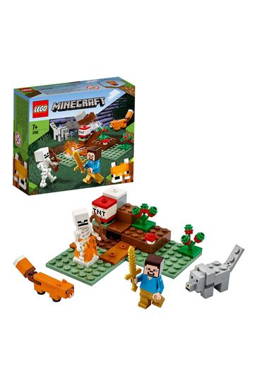 LEGO 21162 Minecraft The Taiga Adventure Building Set