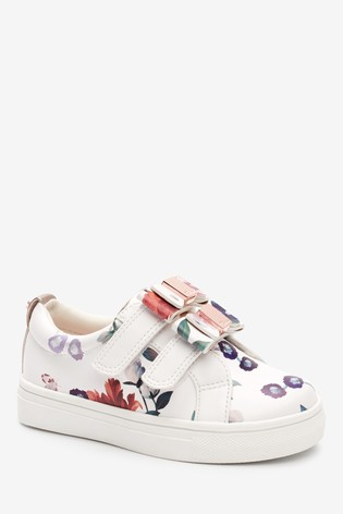 Baker by Ted Baker White Print Trainers