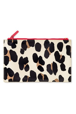 kate spade new york Forest Feline Pencil Pouch