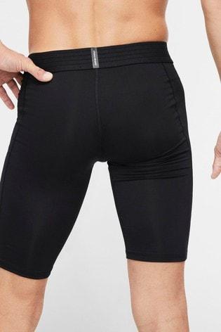 Nike Pro Black Base Layer Long Shorts
