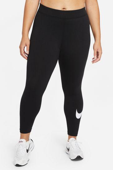Nike Curve Essential Mid Rise Swoosh Leggings