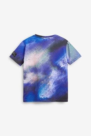 Hype Airbrush Washed T-Shirt