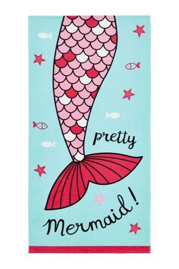 Mermaid Beach Towel by Catherine Lansfield