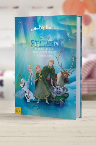 Personalised Disney™ Frozen Olaf's Adventure Book by Signature Book Publishing