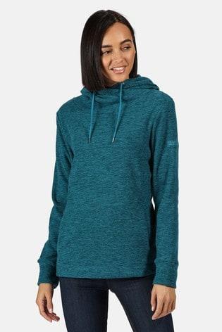 Regatta Blue Kizmit II Hooded Fleece