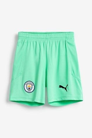 Puma® Manchester City Goalkeeper Junior Shorts