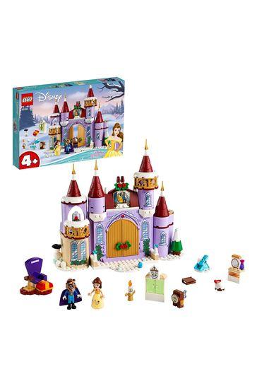 LEGO 43180 Disney Princess Belle's Castle Winter Celebration