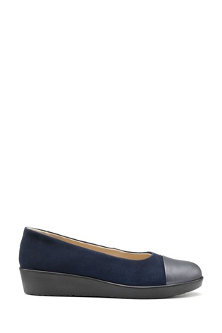 Hotter Blue Angel Slip-On Wedge Shoes