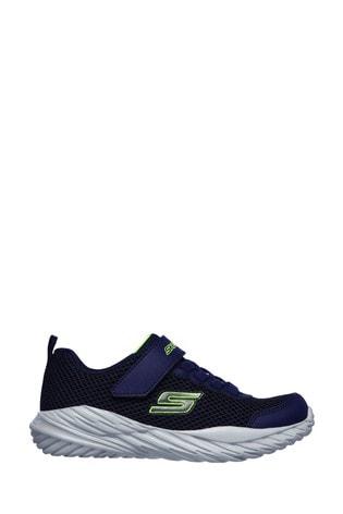 Skechers® Blue Velcro Nitro Sprint Krodon Trainers
