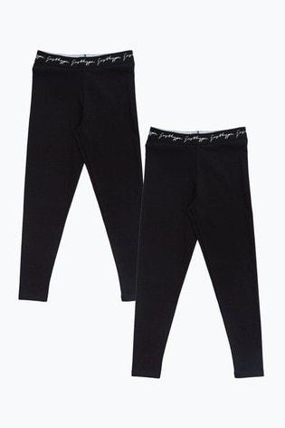 Hype. Women's Leggings Two Pack