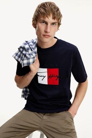 Tommy Hilfiger Blue Box Signature T-Shirt
