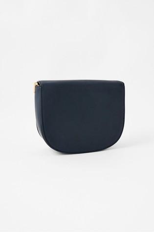 Accessorize Blue Eloise Patchwork Cross-Body Bag