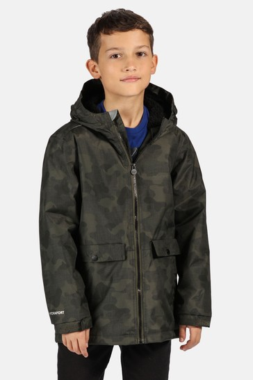 Regatta Green Sarkis Waterproof Jacket