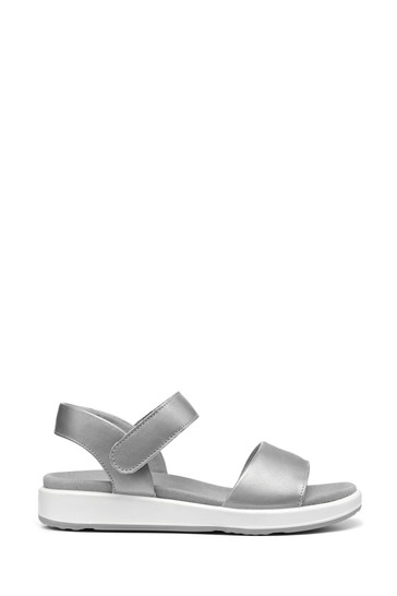 Hotter Metallic Play Wide Fit Touch Fastening Active Sandals